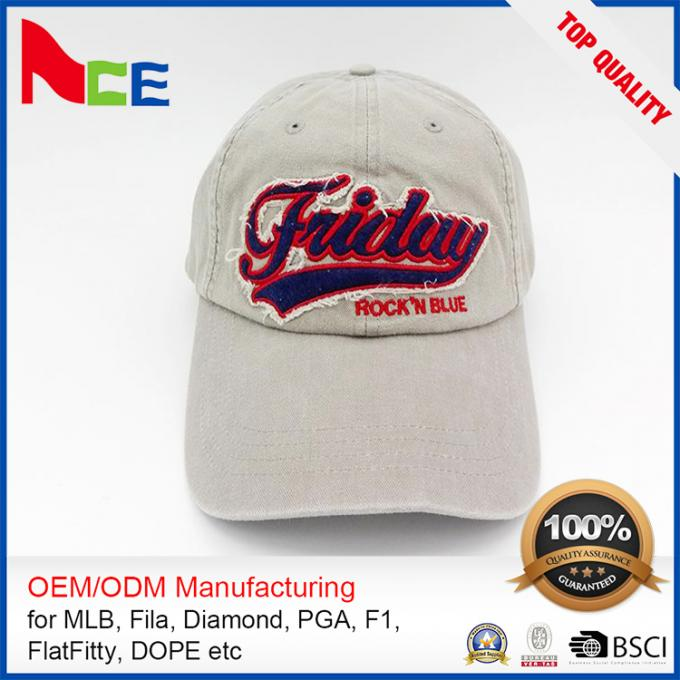 Embroidery Dad Hat Cotton Baseball Cap embroidered patches cap