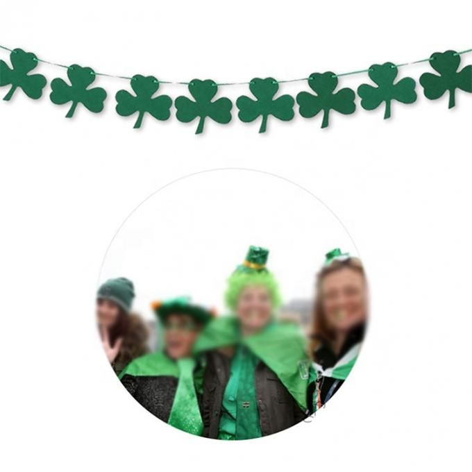 Wholesale Irish Festival Street Hat St. Patrick's Day Shamrock Green Top Hat