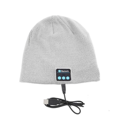 2019 Gift Items Washable Female Beanie Hat With Bluetooth Headphones