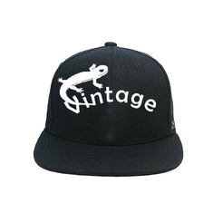 China Embroidery Logo Flat Brim Snapback Hats 5 Panel Camper Hat And Cap supplier