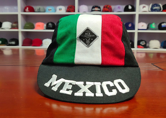 Special Design mix Color Panel Custom Your Own Mexico Logo Sport Caps Hats
