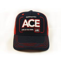 BSCI factory 3d embroidery trucker hats snap back mesh ball cap