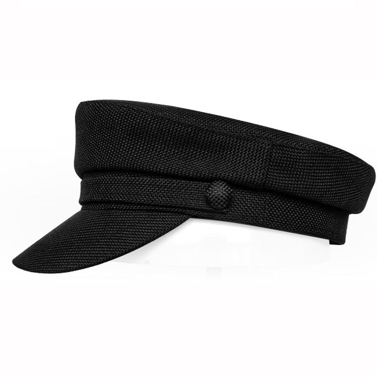Promotional Fashionable Military Cadet Cap For Women Customized Logo