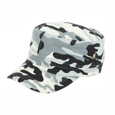 2019 Flat Top Army Cap , New Style Military Camouflage Cap 100% Cotton