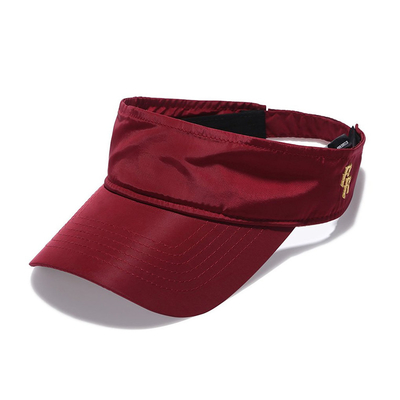 OEM Design Sports Sun Visor Cap With Embroidery Logo 56-60cm Lightweight