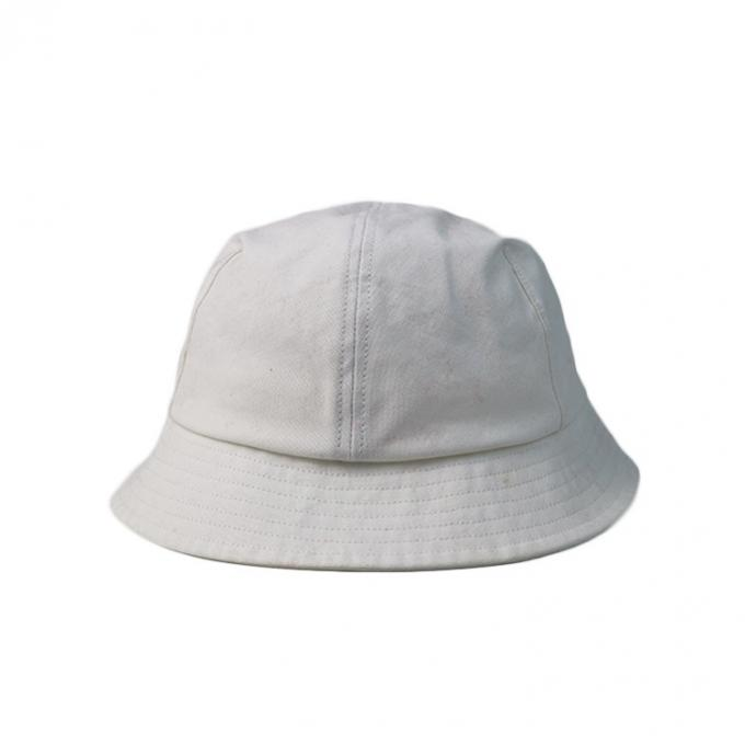 Custom Fitted Folding Fishing Cap Pure Color Blank Bucket Hat Embroidery Logo